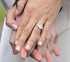 3.65 CW Cushion Cut Royal Bridal Ring Replica of Meghans Engagement Ring Size 10