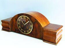 ART DECO ODO - JUNGHANS WESTMINSTER CHIMING MANTEL CLOCK  WITH PENDULUM