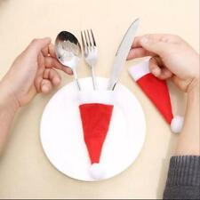 Weihnachts-Deko für Besteck Abendbrot Diner Weihnachtsessen