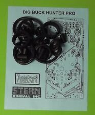 Stern Big Buck Hunter Pro pinball rubber ring kit