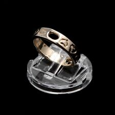 Clear Ring Finger Display Stand Holder Jewelry Tray Ring Plastic Showcase