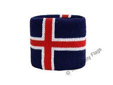 WRISTBAND Iceland Flag SWEATBAND 7x8cm