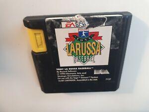 TONY LA RUSSA BASEBALL SEGA GENESIS  GOOD - FAST AND FREE SHIPPING !!