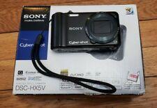 Sony Cyber-shot DSC-HX5V 10.2MP Digital Camera - 10 X Optical Zoom Full HD movie
