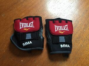 MMA Everlast Handwrap Wrist Support Bandages Boxing Bag Gloves Mitt