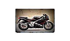 1992 rc36 Bike Motorcycle A4 Retro Metal Sign Aluminium