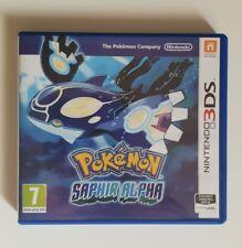 Nintendo 3DS: Jeu 3DS: POKEMON Saphir Alpha  – TBE, Fonc OK
