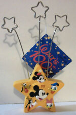 Walt Disney'S 100 Yrs Star Photo Holder Mickey Mouse Donald Duck Goofy Pluto Etc