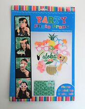 ALOHA LUAU PHOTO PROPS SIGNS CUTOUTS & BACKDROP PARTY DECORATIONS MAD HATTER TEA