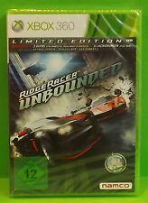 Ridge racer unbounded-Limited Edition Microsoft xbox 360 jeu produit neuf allemand
