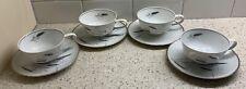 Vintage Easterling Cup Saucer Set Bavaria Germany 4 Sets