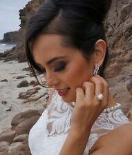 White South Sea 12mm AAA Pearl & Diamond Ring