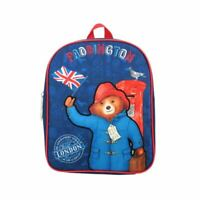 Children's Paddington Bear Backpack School Bag - Nursery Reception Book