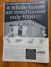 1956 Lennox Ad Air Conditioning A Whole-House AC only $599