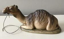 "Anri Kuolt Nativity 6"" Scale Camel Wood Carved Figurine"