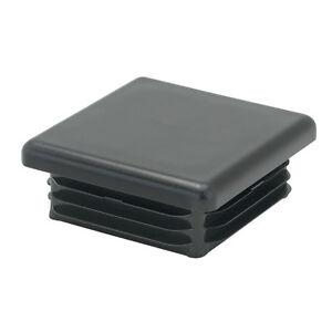 """#55 4 X Carré Plastique Insert 1/"""" x 1/""""//25 x 25 mm Bouchon d/'obturation tube box"""