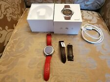 FOSSIL Q FOUNDER 2.0 SMART WATCH WITH SPARE BROWN STRAP, ORIGINAL BOX,...