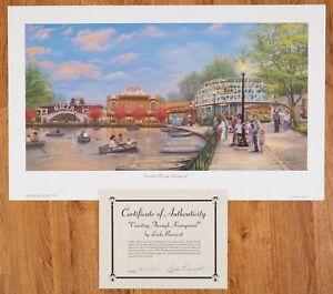 "Linda Barnicott: ""Coasting Through Kennywood"" Sold Out Edition #266,272,273 /500"