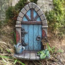 Fairy Door Mini Garden Ornament Elf Pixie Flowers Magical Decoration NEW 39163