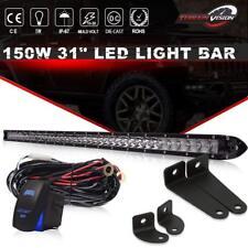 2009-CURRENT POLARIS XP 550/850 30'' Slim LED Light Bar Combo+ Wiring Kit