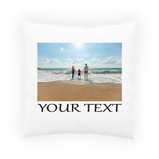 Personalised Photo Pillowcase Cushion INSERT Pillow Case Cover Custom Gift