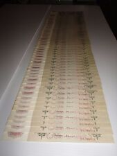 82+16 CONSECUTIVE  RUSSIAN BANK NOTES 500 RUBLES 1912 UNCIRCULATED VERY RARE