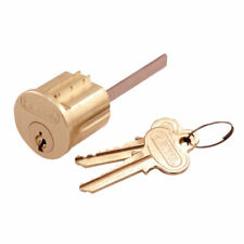 Prime-Line  Brass  Keyed Differently  Key Lock Cylinder