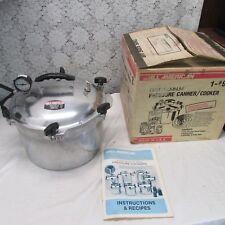 All American 915 15.5 Qt Heavy Cast Aluminum Pressure Cooker/Canner