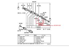 MITSUBISHI 99-05 ECLIPSE 98-03 GALANT 3.0 FRONT AXLE BEARING KIT OEM MR388567