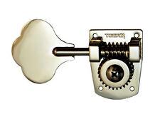 Hipshot Bass Guitar Tuning Key • HB7 (MIM Fender) • Nickel • Right Side