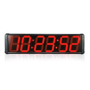Large LED Digital Wall Clock For Market Factory Workshop Big School Clock Modern