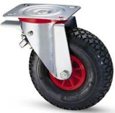 Wheels Pneumatic Wheel pneumatic for Trolleys Bracket Rotating Brake 260 K153