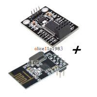 MCU STC15L204 Wireless Development Board + NRF24L01+ Wireless Serial Module