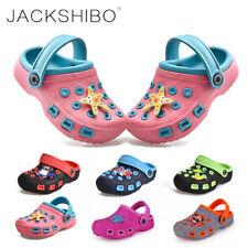 Kinder Clogs Sandalen Pantoffeln Hausschuhe Flip Flops Badelatschen Gartenschuhe