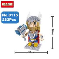 Bausteine Superheld Filmfiguren Thor God Figur Modell Spielzeug Mini Kinder DIY