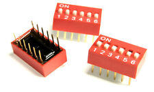 206-10 CTS DIP Switches / SIP Switches Slide Type Switch Module Pitch 6 (1 pcs)