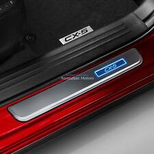 Mazda CX-5 KF 02/2017 Onwards Genuine Illuminated Scuff Plates (Set of 4)