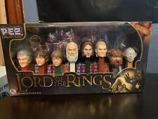 The Lord Of The Rings Pez Dispenser Collectors Set, LIMITED EDITION, 2011, MIB