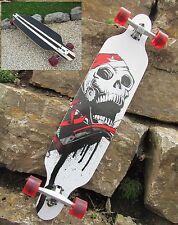 "Longboard 41 Skull Board Skatboard Long Board ""Hohe Qualität"" 43069"