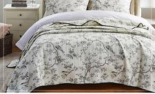100%25 Cotton Coverlet / Bedspread Set Quilt Queen King Size Bed 230x250cm Bird
