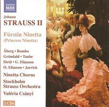 Johann Strauss II - Fürstin Ninetta [2 CDs]
