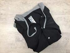 Mens BILLABONG Hooded Button-Down Hoodie Jacket Coat Color/Black Size Xl