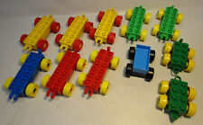 Lego Duplo & Tyco Train Car / Base Lot