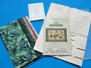 Mckenna Ryan Pine Needles Quilt Kit Huckle-Bearies Pattern +Fabric 29.5x21 Bears