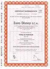 Euro Disneyland  S.C.A  Paris  Disney , Selten angeboten  100er