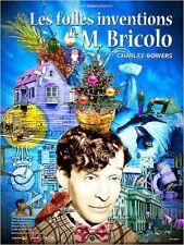 Affiche 40x60cm LES FOLLES INVENTIONS DE M. BRICOLO 1924 Charley Bowers R NEUVE
