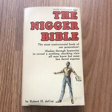 The Nigger Bible-Robert deCoy-1967 Holloway-Black Power-History-Dick Gregory-BLM