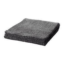 IKEA GURLI Throw Blanket 47x71 Grey Black Fleck washable soft NEW FREE SHIP