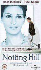 Notting Hill UNIVERSAL UK VHS VIDEO 2002 Julia Roberts Hugh Grant  Rhys Ifans