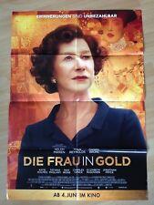 Filmposter * Kinoplakat * A1 * Die Frau in Gold * 2015 * Regie: Simon Curtis